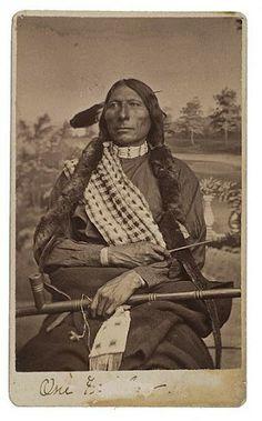 One Feather (aka Long Feather) - Sihasapa/Hunkpapa - 1881