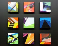 colorss Abstract Geometric Art, Geometric Drawing, Painters Tape Design, High School Art Projects, Composition Art, Op Art, Mini Canvas Art, Square Art, Print Wallpaper