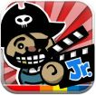 Toontastic Jr Pirates - kids make movies of their own.  They can also co-create a story together with family members