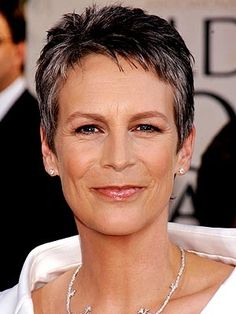 Jamie Lee Curtis, strong woman who refuses to cater to Hollywood's botox, facelifts and haircolor, instead growing old gracefully and beautifully. A good role model for women of all ages.