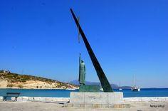 Statue of Pythagoras,Samos Island  Photo