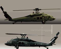 Nine Eagles Solo Pro 319 B.Hawk60 - UH-60 Black Hawk - 2.4GHz 6ch R/C