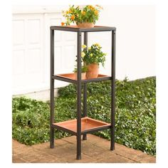Plow & Hearth Multi-Tiered Plant Stand & Reviews | Wayfair