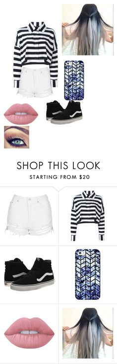 """Untitled #249"" by jazel117 on Polyvore featuring Topshop, Norma Kamali, Vans, Casetify and Lime Crime"