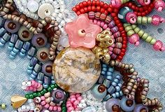 Image result for beaded collage