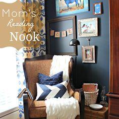 Transform a Boring Corner Into a Reading Nook