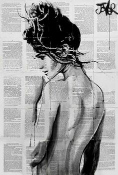 "Saatchi Art Artist Loui Jover; Drawing, ""summer ardour  ......((SOLD))"" #art"
