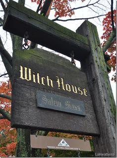 Magick Wicca Witch Witchcraft:  Salem Witch House, Salem, Massachusetts, USA.