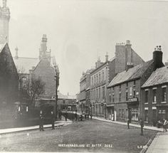 Northumberland st. Blyth. This is a really old photo - no idea of year.