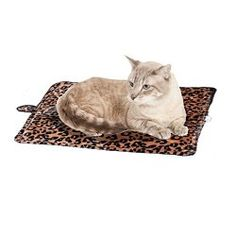 Cat Bed – Purrfect Thermal Cat Mat Leapord Prints (Brown Leopard)
