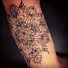 Sarah B Bolen arm tattoo Arm Tattoo, Piercing Tattoo, Mandala Tattoo, Tattoo You, Body Art Tattoos, New Tattoos, Tatoos, Tattoo Pics, Epic Tattoo