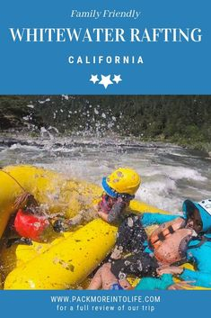 Check out our River Rafting California adventure on the Klamath River with OARS! See why you should take the kids on whitewater rafting family adventure. The best of whitewater adventures in Northern California!