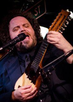 Jason Vivone plays lead guitar for Jason Vivone and the Billy Bats.