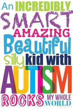 #Autism is #beautiful!