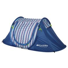 Eurohike Nautical Pop Up SD 2 Man Tent, Blue  #CyclingBargains #DealFinder #Bike #BikeBargains #Fitness Visit our web site to find the best Cycling Bargains from over 450,000 searchable products from all the top Stores, we are also on Facebook, Twitter & have an App on the Google Android, Apple & Amazon.