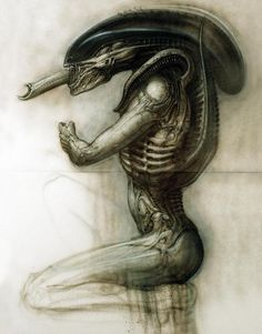 Exclusive HR Giger concept art in celebration of Alien's 35th anniversary.