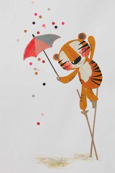 45 Cute Animal Illustration Concepts illustration obtain Tiger Illustration, Character Illustration, Animal Illustrations, Childrens Wall Art, Art Wall Kids, Hippopotamus Images, Animal Drawings, Cute Drawings, Lion Tigre