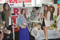 En la inauguración de nuestro stand de Moda.
