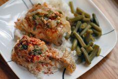 Chicken in Sour Cream Paprika Sauce