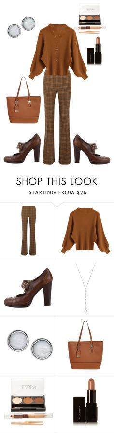 """Simple Work Outfit"" by jazzybell27 ❤ liked on Polyvore featuring Michael Kors, Stuart Weitzman, Simply Vera, FOSSIL, Miss Selfridge, Manna Kadar Cosmetics and Illamasqua"