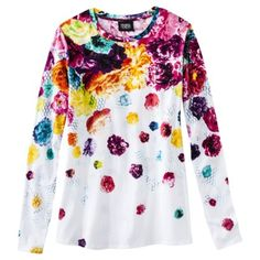 I bough this fun colorful top!    Through the Sole: A shoe blog: Prabal Gurung for Target: Nice Design; Sometimes Poor Execution Part 2