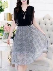 Fancy And Retro  V Neck Paillette Assorted Colors Maxi-dresses