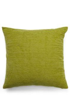 Green plain chenille cushion - accessories - accessories - home sale  - Home, Lighting & Furniture