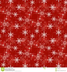 christmas wrapping paper | Christmas wrapping paper pattern, red background with snowflakes.
