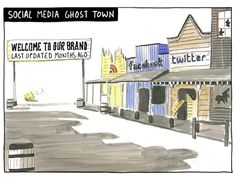 Don't create a Ghost Town   The Financial Adviser Coach, by Tony Vidler  www.financialadvisercoach.com