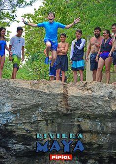 Campamento PIPIOL Riviera Maya. Clavados en el Cenote Cristalino. #RivieraMaya2015