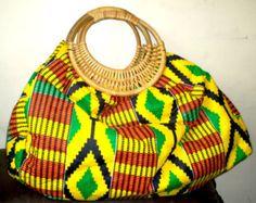 Ankara Bags, Cloud Cushion, African Accessories, Kente Styles, Handmade Handbags, Couture, African Fabric, Bag Storage, African Fashion