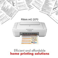 The #PIXMA MG 2570 all-in-one printer ensures that you get things done efficiently with no effort!  Upgrade your printer now affordably at the following link: http://www.imagestore.co.in/canon-pixma-mg2570-printer.html
