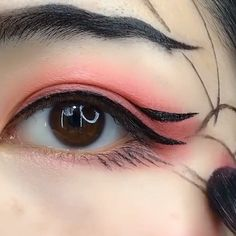 Beautiful Makeup Tutorial Compilation- Beautiful Makeup Tutorial Compilation Eye beauty make up - Eyebrow Makeup Tips, Makeup Eye Looks, Skin Makeup, Eyeshadow Makeup, Eyebrow Products, Makeup Case, How To Do Eyeshadow, Cute Eye Makeup, Eyeliner Hacks