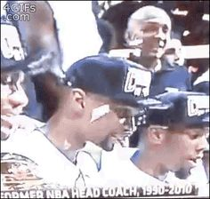 Chris Bosh enjoying his very first piece of confetti: | The 23 Most Painfully Awkward Things That Happened In 2013