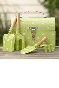 Gifts for Kids - Kids Garden Tools with Tool Box