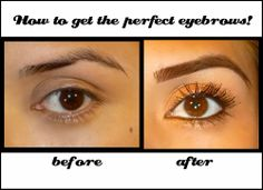 How to Fix Ruined or Over - Tweezed / Overplucked Eyebrows