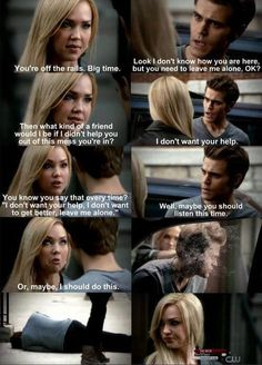 Haha! I love Lexi! I wish Damon hadn't killed her in season 1. I think the writers realize that which is why they bring her back as a ghost/flashbacks. I personally, hope for more Jenna in the future.