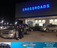 #HappyAnniversary to Lori Backwater on your 2010 #Chevrolet #Tahoe from Phillip Burnette at Crossroads Chevrolet Cadillac!