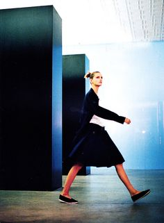 An editorial collaboration with fashion heavyweights Grace Coddington, Steven Meisel, Helmut Lang & Jacquetta Wheeler for US Vogue, 1998. The 90s at its best.