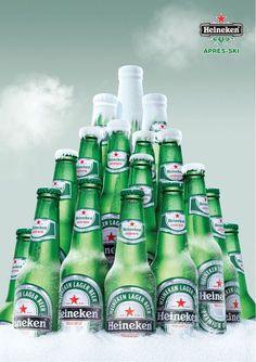 Huge Heineken Ads Gallery: Our 33 Favorite Beer Commercials Creative Advertising, Print Advertising, Print Ads, Ads Creative, Stella Artois, Effective Ads, Beer Commercials, Coca Cola, Ad Of The World