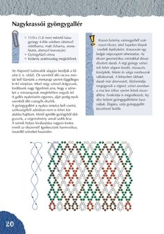 nagykrassói gyöngygallér minta - kész ékszer másik képen Diy Necklace Patterns, Beaded Jewelry Patterns, Beading Patterns, Beading Projects, Beading Tutorials, Nativity Crafts, Beaded Collar, Beaded Bags, Bead Art