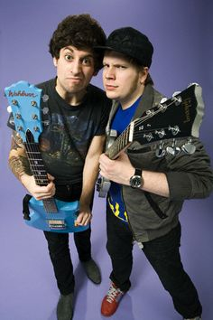 Patrick Stump and Joe Trohman <3