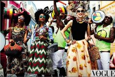 """""""We be jammin""""! African designs are taking over. #AfricanDesign #Imaluxurylady"""