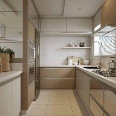 """584 curtidas, 7 comentários - Decor 4 Home - By Katia Lopes (@_decor4home) no Instagram: """"Kitchen 🍽🔝 📐Projeto by Ambientalize Arquitetura. @homeluxo #interiordesign #decoracao #decor #home…"""""""