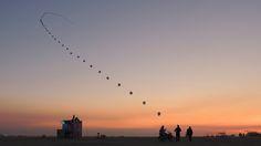 2012 balloon chain - 50 of the coolest Burning Man art installations ever [pics] - Matador Network