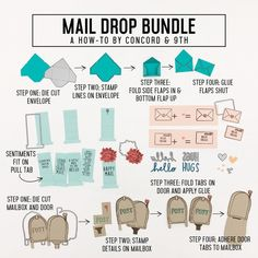 Check out the latest from Concord & Don't miss out on all the savings this month! Large Mailbox, Concord And 9th, Sending Hugs, Interactive Cards, Clear Stamps, Say Hello, Diy Cards, Stencil, Cardmaking