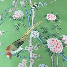 Affordable Chinoiserie Wallpaper Panels & Murals + Sources! | Laurel Home