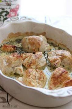 Si te gusta el pollo al limón, completa el plato con unas espinacas como hacen desde el blog SABOREANDO EN COLORES.
