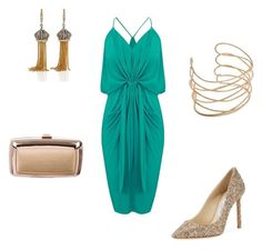"""""""Untitled #168"""" by ndmb20ses82 on Polyvore featuring MISA Los Angeles, Jimmy Choo, Roger Vivier and Annoushka"""