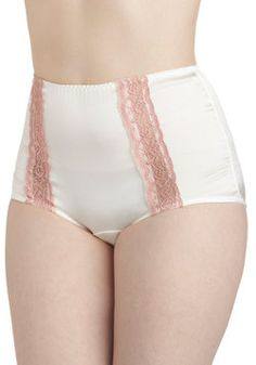 Truly Pampered Undies in White, #ModCloth